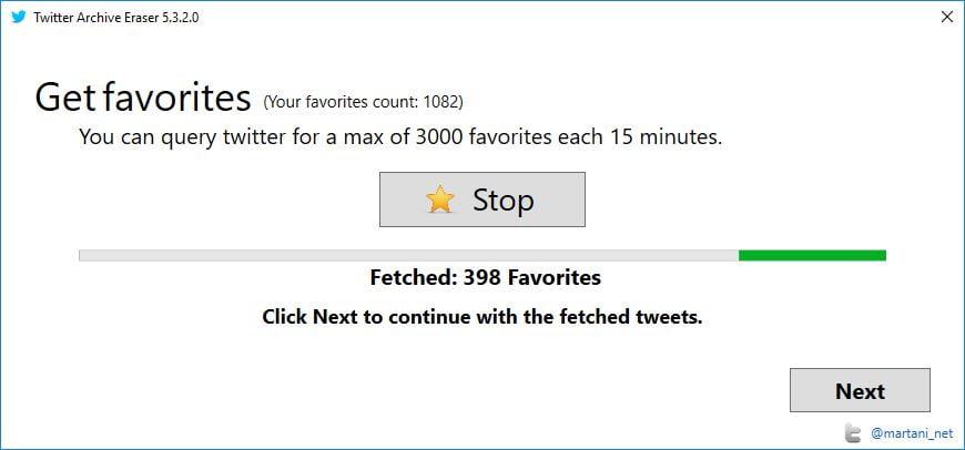 twitter-archive-eraser-3 Twitter : Effacez vos anciens tweets, likes et messages privés en un seul clic !