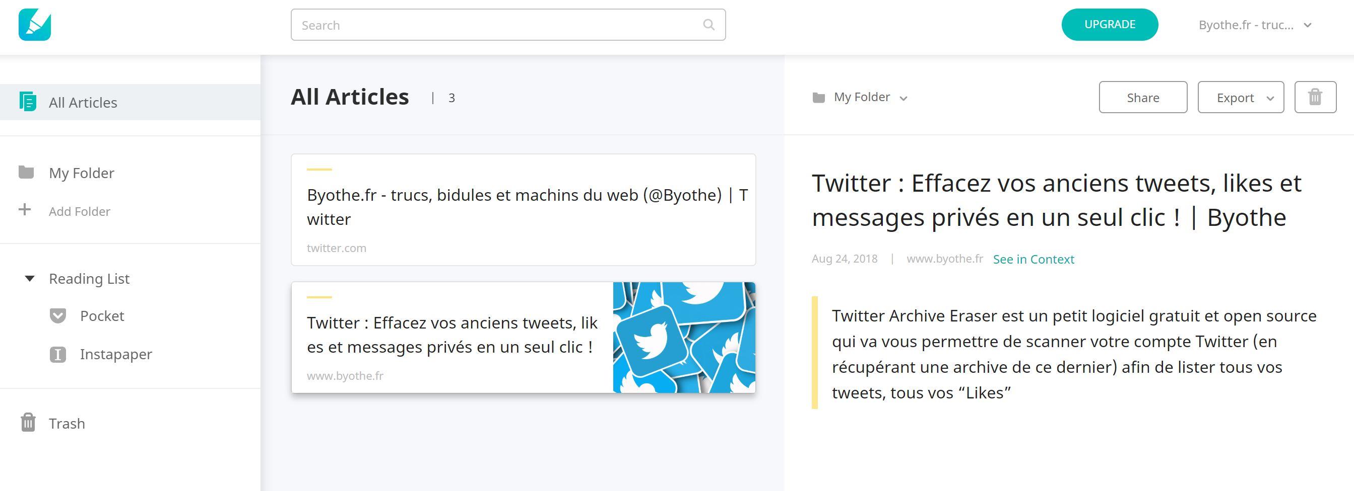 liner-tableau-de-bord Liner : surligner, commenter et sauvegarder des contenus en ligne !