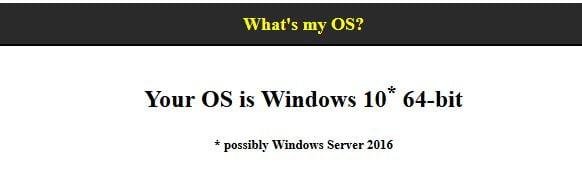 WhatsMyOS 3 sites web utiles pour obtenir rapidement des informations à propos de votre ordinateur