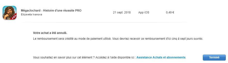 app-store-annuler-achat3 Comment se faire rembourser une application achetée sur l'App Store ?