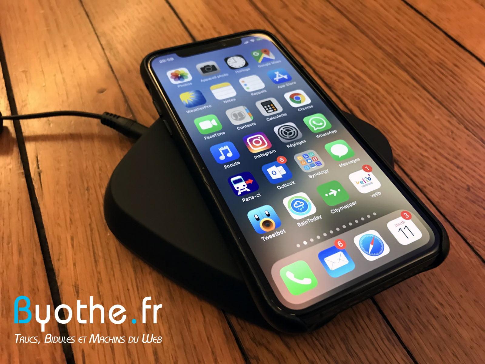 chargeur-zens-qi-1 Test : Chargeur induction sans fil Zens Qi 15W pour smartphone