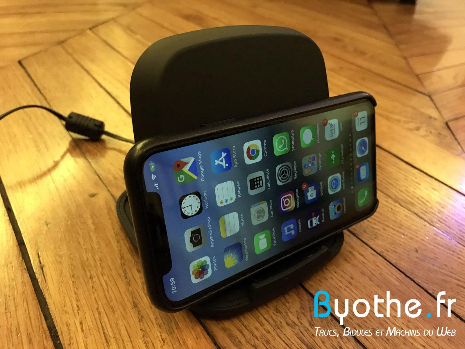 chargeur-zens-qi-5 Test : Chargeur induction sans fil Zens Qi 15W pour smartphone