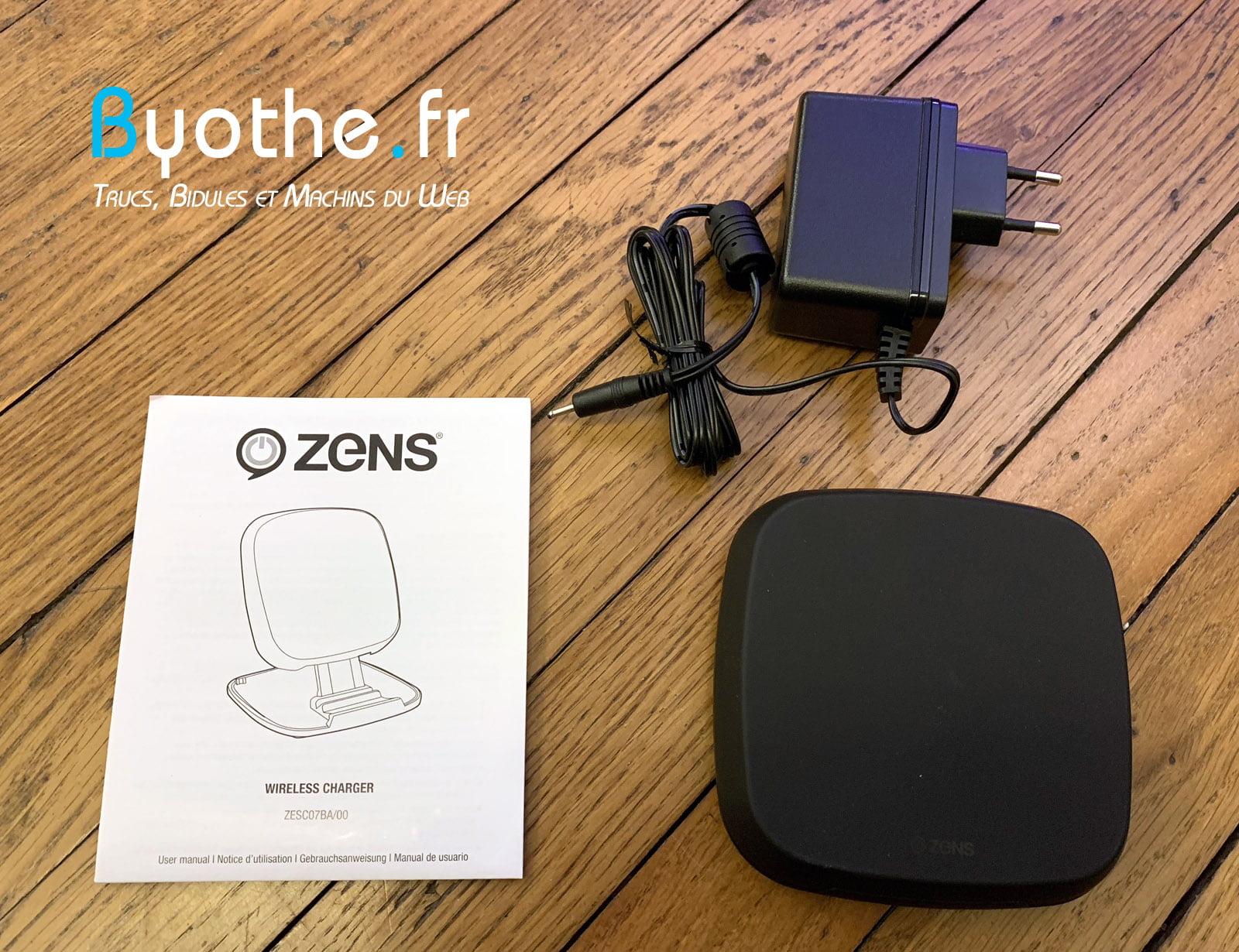 chargeur-zens-qi-9 Test : Chargeur induction sans fil Zens Qi 15W pour smartphone