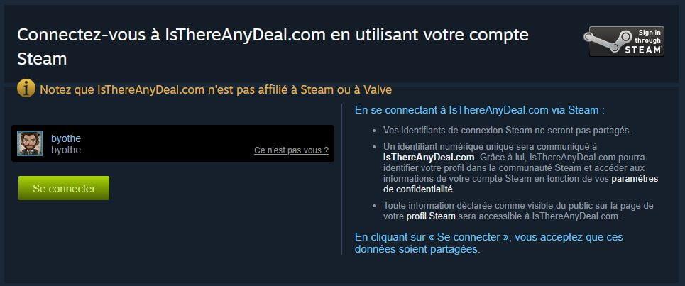 isthereanydeal-3 Steam : comment recevoir des alertes plus pertinentes sur les baisses de prix des jeux