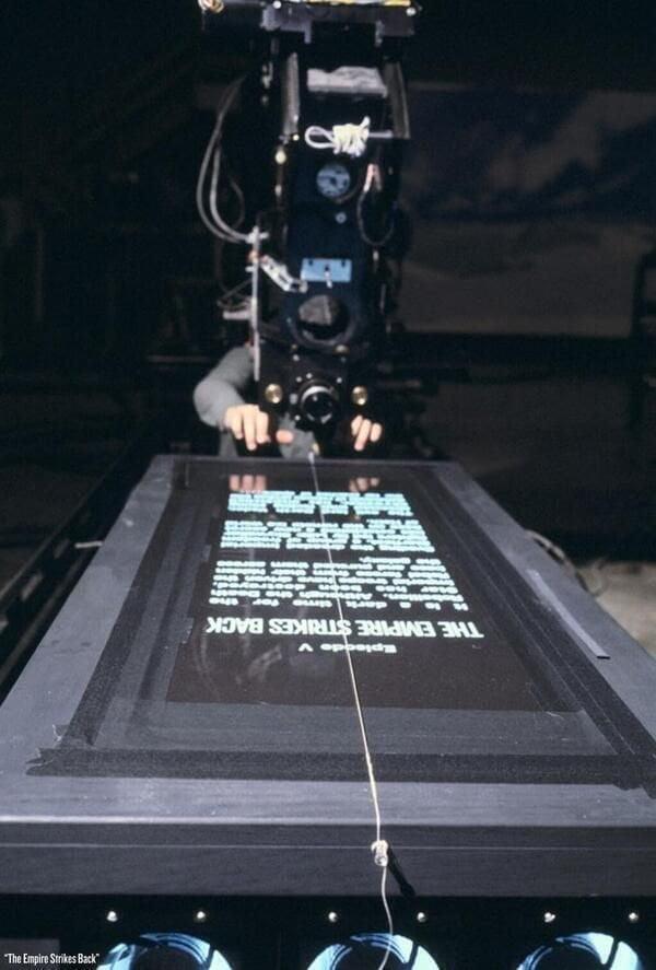 star-wars-generique Comment le générique d'ouverture de Star Wars a-t-il été filmé ?