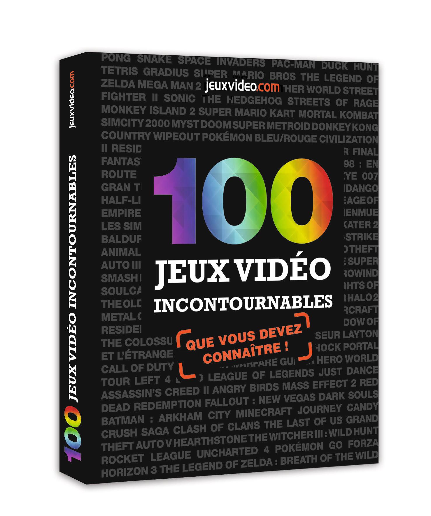 """100-jeux-video-incontournables #Concours : 1 livre """"100 jeux vidéo incontournables"""" à gagner !"""