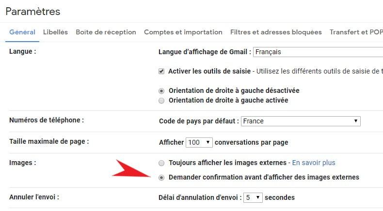 gmail-afficher-images Comment les gens peuvent voir quand vous ouvrez leurs emails (et comment les en empêcher)