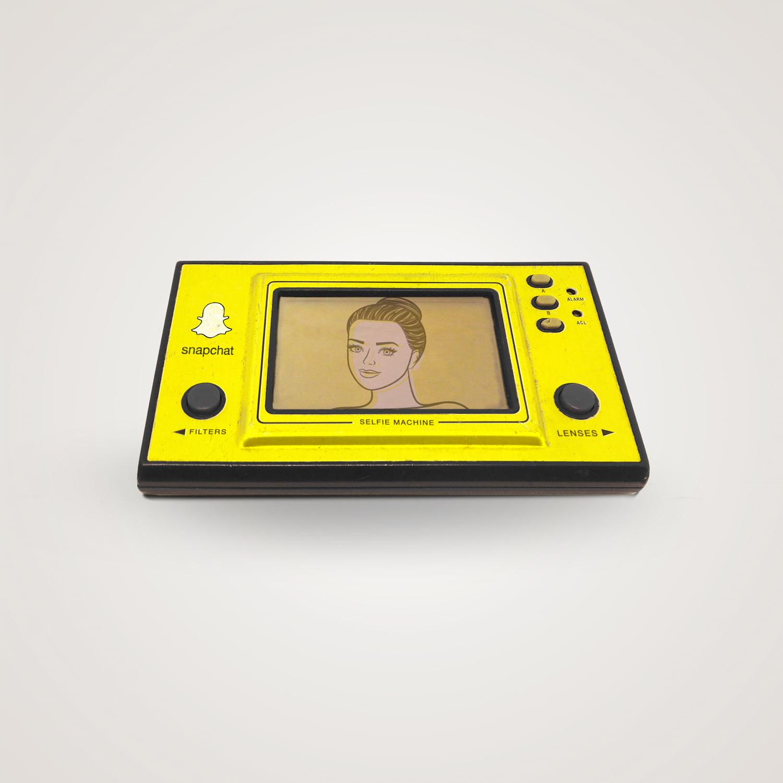 rebirth-Snapchat 8 logiciels ou applications actuelles transformées en objets des années 80