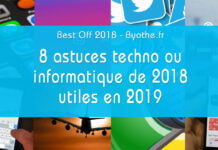best off 2018 byothe astuces
