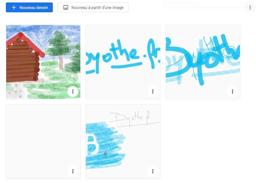 google-canvas-bibliotheque Canvas, l'application de dessin en ligne signée Google
