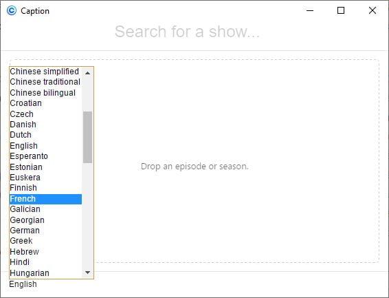 caption-sous-titre-langue-francais Caption : une application gratuite pour trouver les sous-titres d'un film ou d'une série