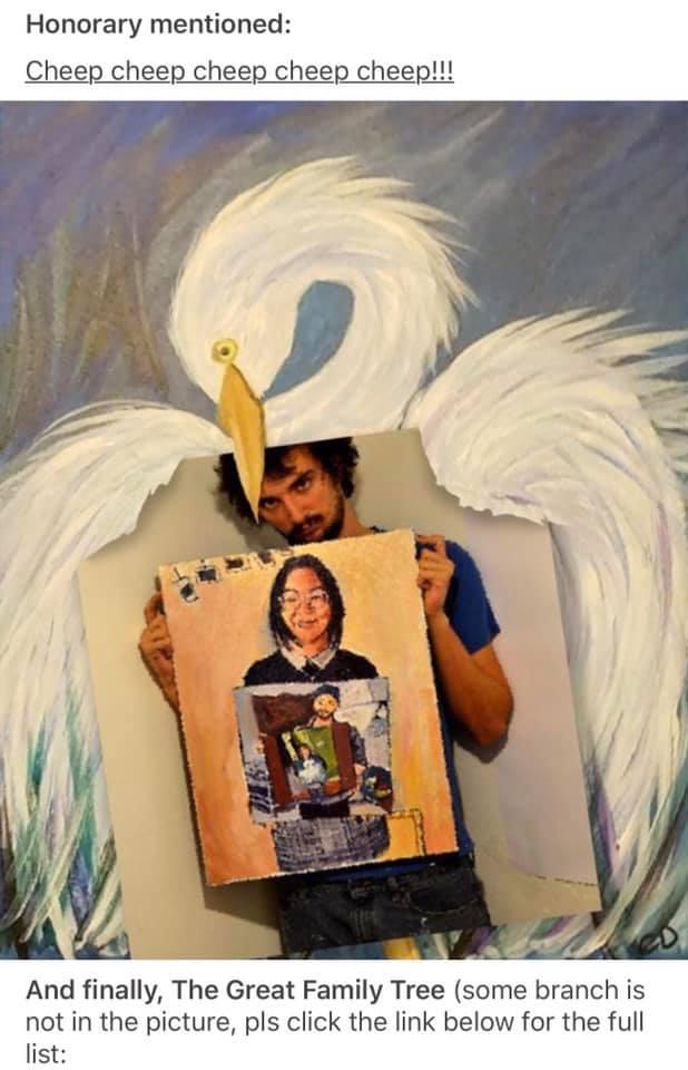 reddit-aigrette-peinture-fin La magie des réseaux : J'ai peint la personne qui a peint la personne qui a peint l'oiseau...