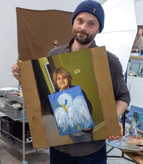 reddit-peinture-photo-maman La magie des réseaux : J'ai peint la personne qui a peint la personne qui a peint l'oiseau...