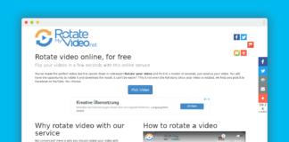 rotatemyvideo rotation video en ligne