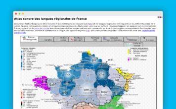 atlas sonore langues regionales france home
