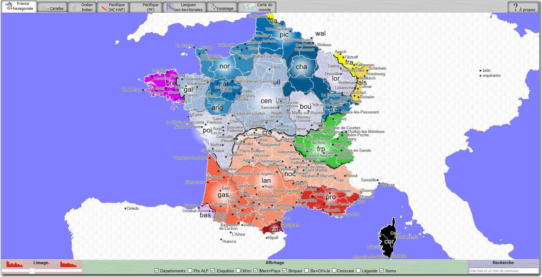 atlas-sonore-langues-regionales-france Cet atlas sonore vous permet de découvrir les langues régionales de France