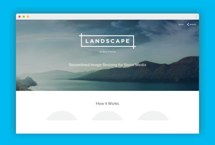 landscape image reseaux sociaux