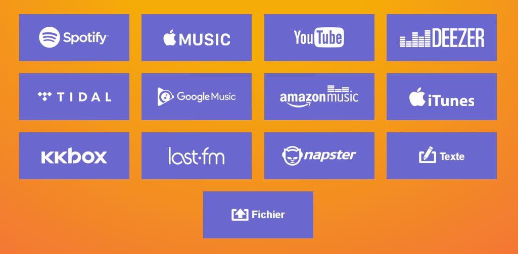 TuneMyMusic-exporter-playlist-streaming-sources TuneMyMusic vous permet de transférer des playlists et des bibliothèques entre différents services musicaux