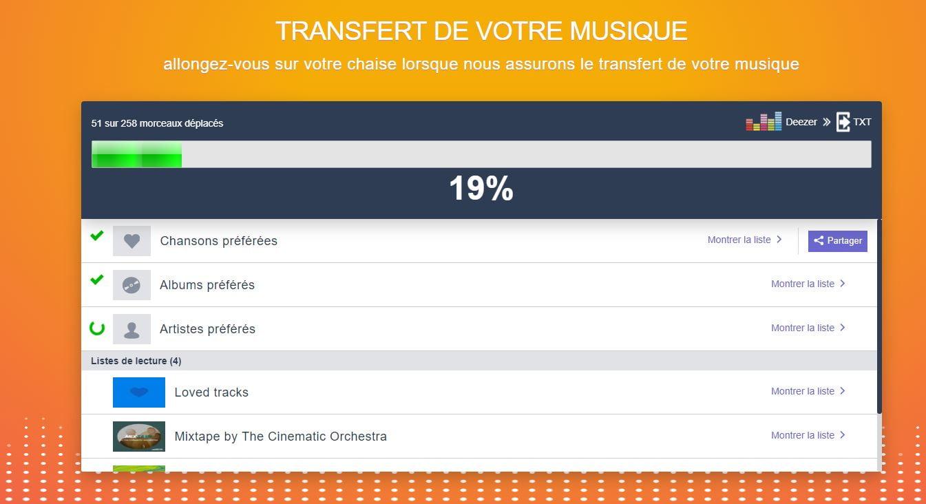 TuneMyMusic-exporter-playlist-streaming-transfert TuneMyMusic vous permet de transférer des playlists et des bibliothèques entre différents services musicaux