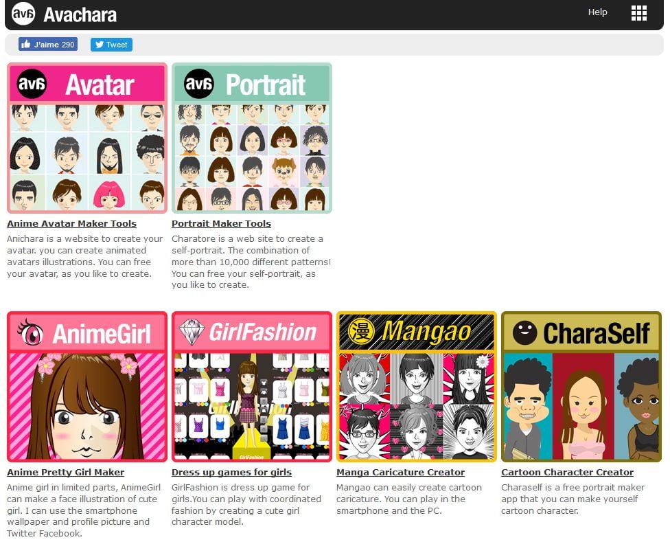 avachara-creation-avatar 6 outils en ligne pour créer un avatar sympa pour les réseaux sociaux