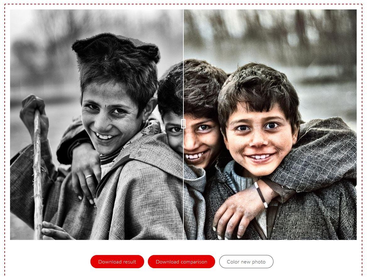 colouriseSG-curseur-photo-couleur ColouriseSG colorise vos photos noir et blanc grâce au deep learning