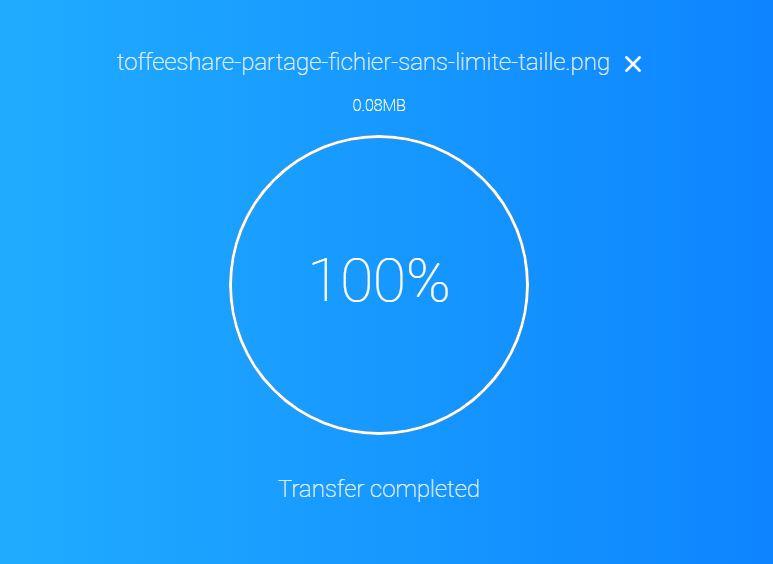 toffeeshare-partage-fichier-transfert-fini Envoyez un fichier sans aucune limite de taille avec ToffeeShare