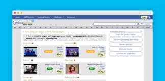 lyricsgap apprendre langue etrangere