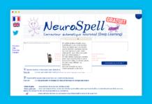 neurospell neuronal correction orthographe
