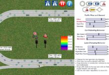 traffic simulation embouteillage