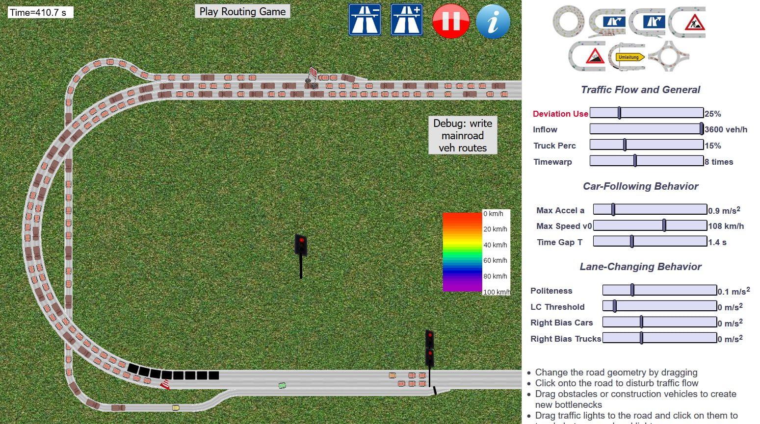 traffic-simulation-embouteillage-travaux-route Un simulateur de trafic routier dans votre navigateur