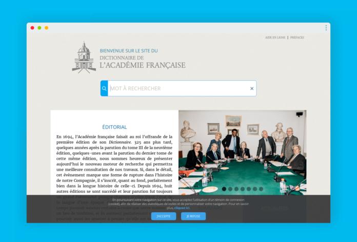dictionnaire academie francaise
