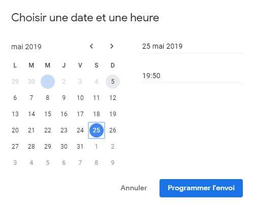 gmail-programmer-envoi-date-heure Programmer l'envoi d'un email avec Gmail