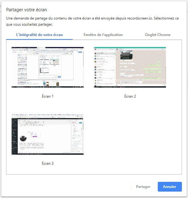 recordscreen-ecran-application Ce site web vous permet d'enregistrer votre écran sans rien installer !