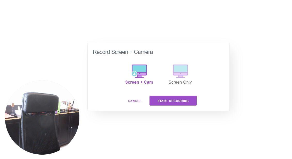 recordscreen-ecran-webcam Ce site web vous permet d'enregistrer votre écran sans rien installer !