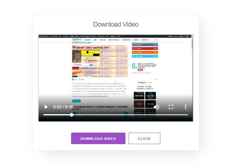 recordscreen-resultat Ce site web vous permet d'enregistrer votre écran sans rien installer !