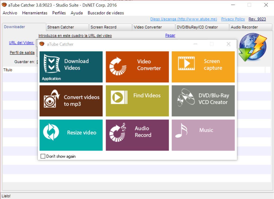atube-catcher-youtube-mp3 2 logiciels gratuits pour convertir les vidéos YouTube en MP3