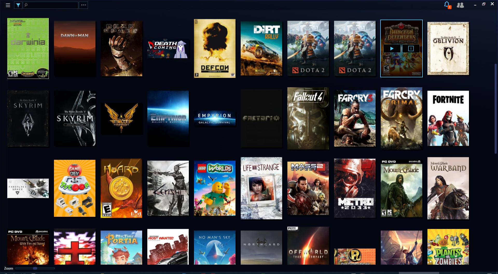 Retrouvez tous vos jeux PC dans une bibliothèque unifiée avec